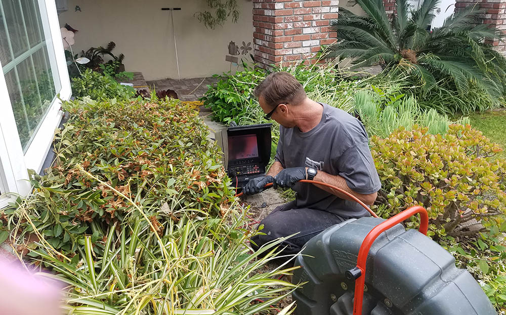 Video Pipe Inspection in Huntington Beach CA - DeVinney Plumbing